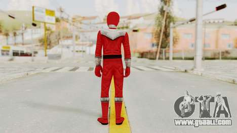 Power Rangers Time Force - Red for GTA San Andreas third screenshot