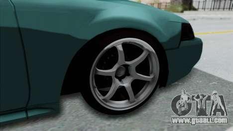 Ford Mustang 1999 Drift Falken for GTA San Andreas back view