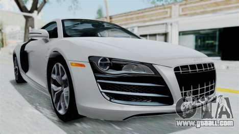 Audi R8 V10 2010 for GTA San Andreas right view