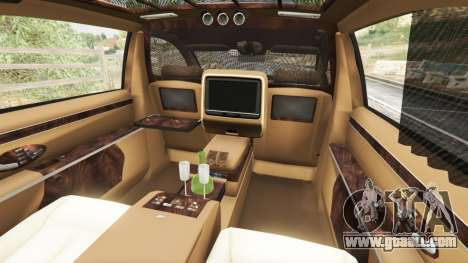GTA 5 Maybach 62 S steering wheel