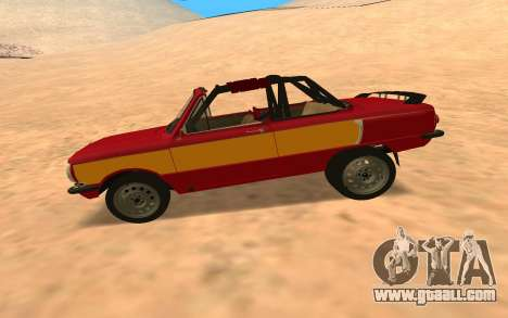 ЗАЗ-968 Offroad Style for GTA San Andreas left view