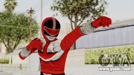 Power Rangers Time Force - Red for GTA San Andreas