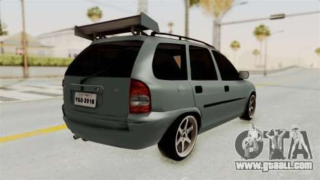Chevrolet Corsa Wagon Tuning for GTA San Andreas right view
