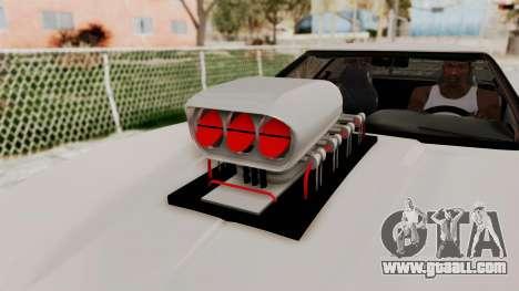 Chevrolet Corvette C4 Monster Truck for GTA San Andreas back view