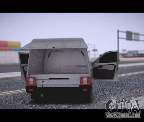 Lada Priora Stok Budka for GTA San Andreas back left view