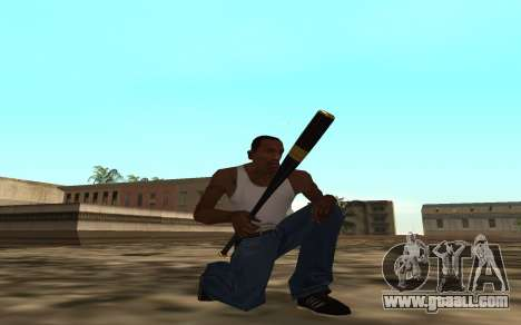 Golden weapon pack for GTA San Andreas second screenshot