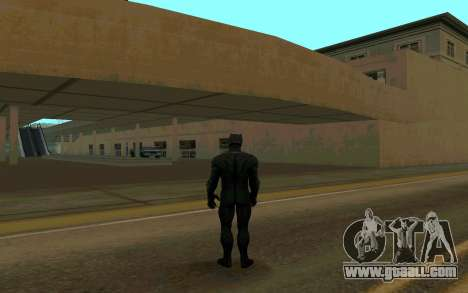 Black Panther confrontation for GTA San Andreas second screenshot