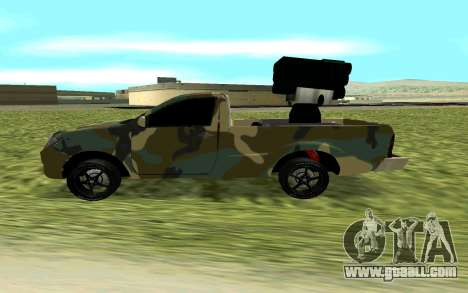 Toyota Hilux 2013 for GTA San Andreas left view