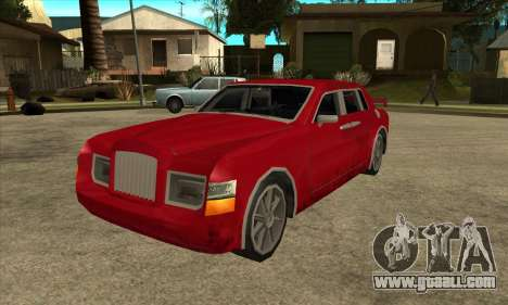Rolls Royce Phantom for GTA San Andreas back left view