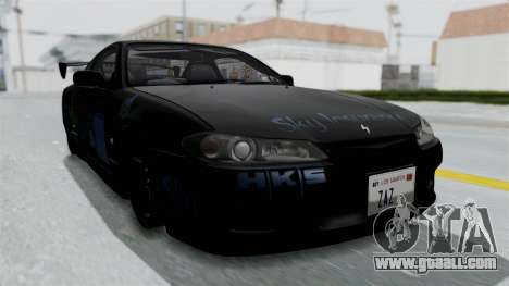 Nissan Silvia S15 RDT for GTA San Andreas right view