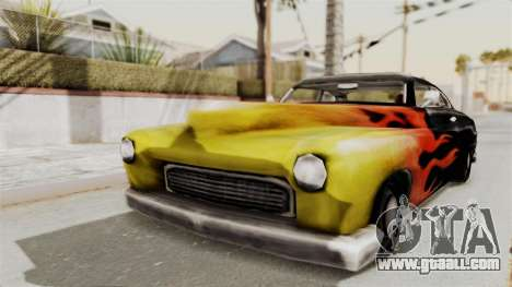 Beta VC Cuban Hermes for GTA San Andreas