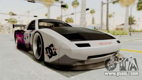Mazda RX-7 FC Itasha for GTA San Andreas right view