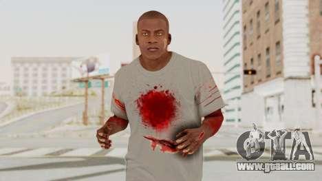 GTA 5 Franklin Zombie Skin for GTA San Andreas
