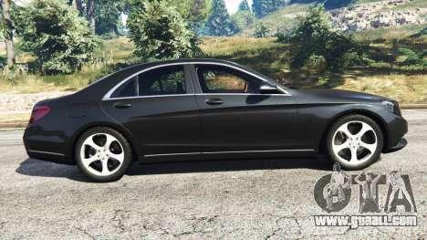 GTA 5 Mercedes-Benz S500 left side view