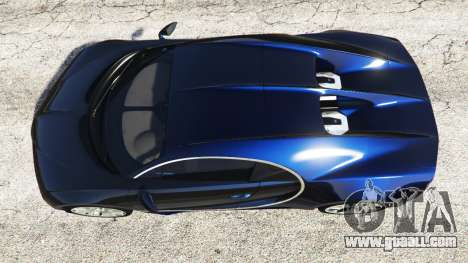 GTA 5 Bugatti Chiron back view