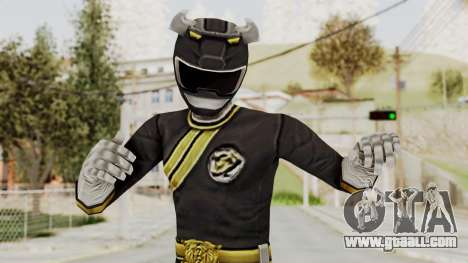 Power Rangers Wild Force - Black for GTA San Andreas