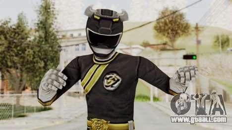 Power Rangers Wild Force - Black for GTA San Andreas