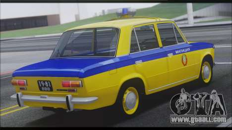 VAZ 2101 for GTA San Andreas engine