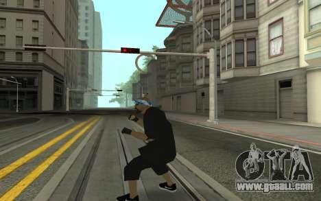 Varios Los Aztecas Gang Member for GTA San Andreas third screenshot