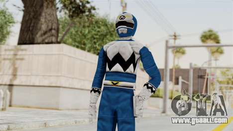 Power Rangers Lost Galaxy - Blue for GTA San Andreas