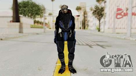 Mass Effect 2 Garrus for GTA San Andreas second screenshot