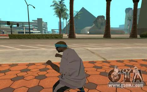 Varios Los Aztecas Gang Member for GTA San Andreas third screenshot