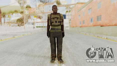 MGSV Phantom Pain RC Soldier T-shirt v2 for GTA San Andreas second screenshot