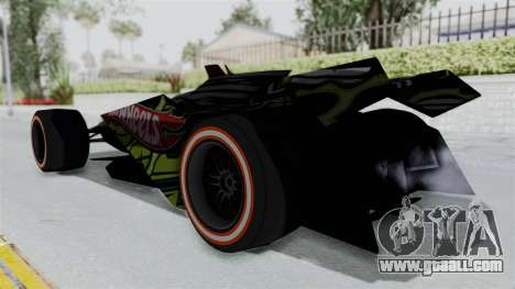 Bad to the Blade from Hot Wheels for GTA San Andreas left view