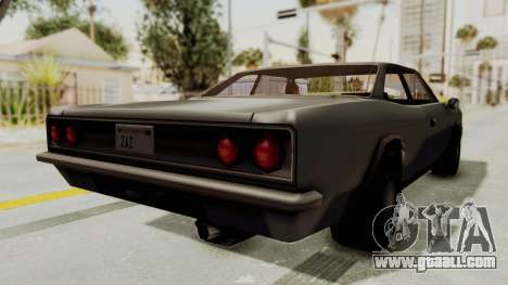 Restored Tampa for GTA San Andreas back left view