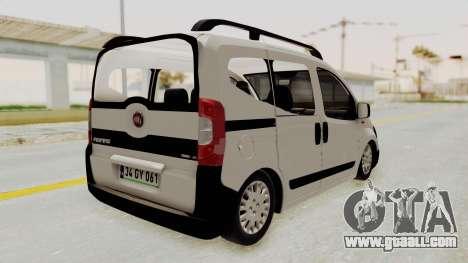 Fiat Fiorino 2014 for GTA San Andreas left view