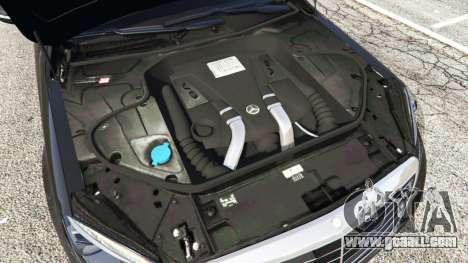 GTA 5 Mercedes-Benz S500 steering wheel