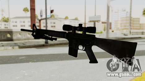 M16 Sniper for GTA San Andreas second screenshot