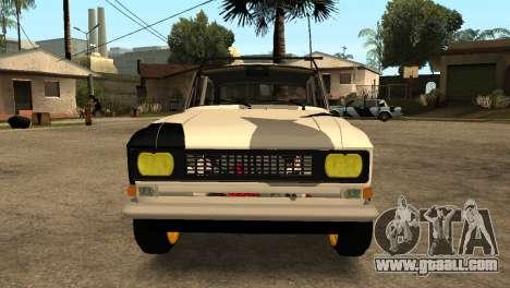 AZLK 412 for GTA San Andreas left view