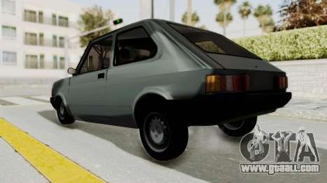 Fiat 147 Vivace for GTA San Andreas back left view