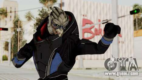 Mass Effect 2 Garrus for GTA San Andreas