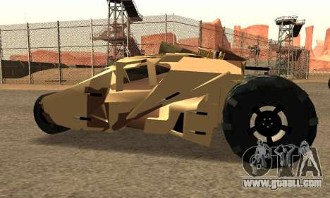 Army Tumbler Rocket Launcher from TDKR for GTA San Andreas