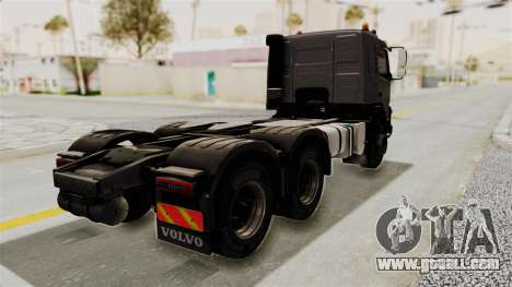 Volvo FMX Euro 5 6x4 for GTA San Andreas back left view