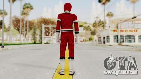 Power Rangers Turbo - Red for GTA San Andreas third screenshot