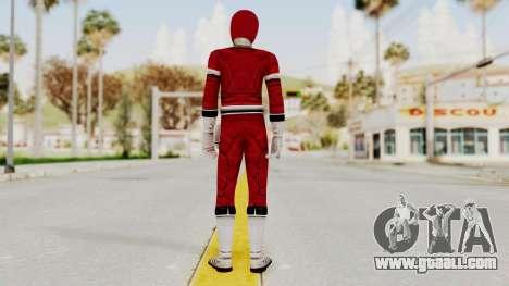 Power Rangers Turbo - Red for GTA San Andreas third screenshot