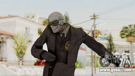 MGSV Phantom Pain SKULLFACE No Hat for GTA San Andreas