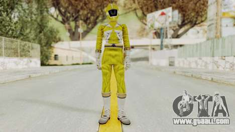 Power Rangers Lightspeed Rescue - Yellow for GTA San Andreas second screenshot