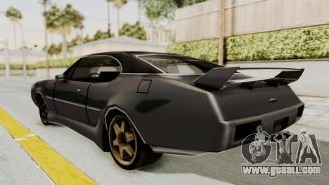 Clover Tunable for GTA San Andreas left view