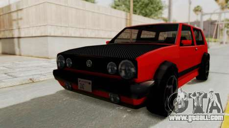 Club GTI for GTA San Andreas back left view