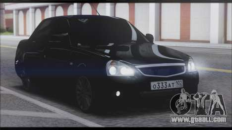 Lada Priora Sedan for GTA San Andreas