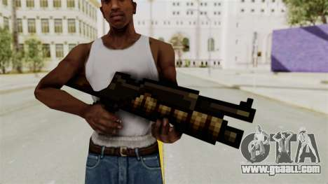 Metal Slug Weapon 1 for GTA San Andreas second screenshot