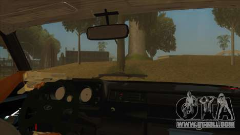 VAZ 2105 Combat Classics for GTA San Andreas inner view