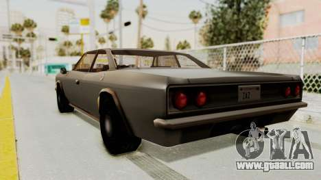 Restored Tampa for GTA San Andreas left view