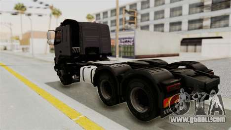 Volvo FMX Euro 5 6x4 for GTA San Andreas left view