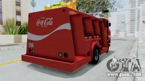 Ford P600 1964 Coca-Cola Delivery Truck for GTA San Andreas left view