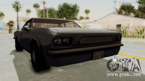 Restored Tampa for GTA San Andreas right view
